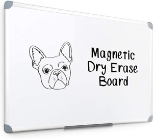 Aluminum Frame White Boards Surface Detachable Dry Erase Board Marker Tray