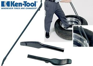 Ken Tool Mount Demount Tire Wheel Iron 37 New Free Shipping Made In The Usa