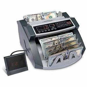 Logia Money Counter Automatic Counting Batching Tray Counterfeit Detection