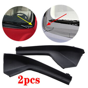 For 2007 2012 Nissan Versa Left Right Side Cowl Grille Outer Extension Trim Us