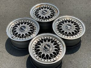 Jdm The Legendary Collapsible Three Piece Forging Bbs Rs R15 4 114 3 6 5j Et 36