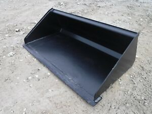 48 Low Profile Smooth Bucket Attachment Fits Toro Dingo Mini Skid Steer Loader