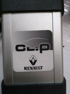 Renault Can Clip Genuine Interface And Hp Laptop With V195 Odb2