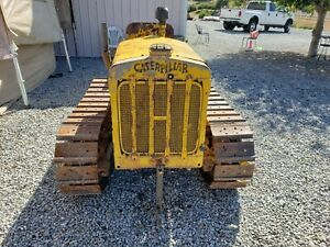 Wide Gauge Cat Caterpillar Ten Tractor Runs Drives
