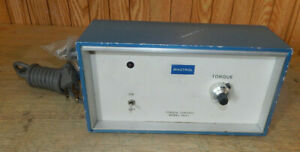 Magtrol 4637 Current Regulated Torque Control Power Supply 115vac