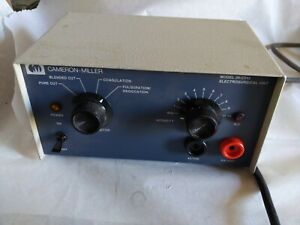 Cameron miller Esu Electrosurgical Electrocautery Unit Warranty W Foot Switches