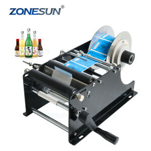 Zonesun Manual Mt 30 Labelling Machine For Bottles Candles Uk Dispatch