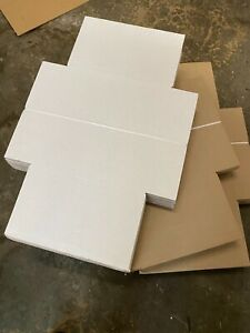 Vinyl Record Mailers White Holds 1 6 45 Rpm 12 Record Lp Cardboard 75 Fast S
