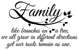 Family Branches Vinyl Decal Car Suv Truck Choose Color