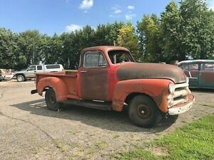 1954 1st Series Chevrolet 3100 5 Window Truck 4l60e 5 3l Potential Build