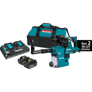 Makita Xrh10ptw 36v Lxt Brushless Cordless 1 1 8 Avt Rotary Hammer Kit new