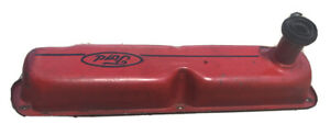 Red Ford Valve Covers Sbf