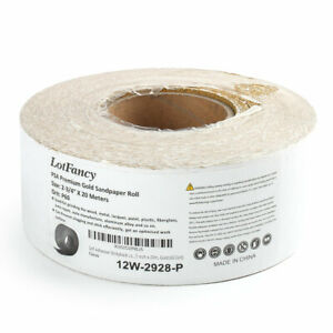 60 80 120 180 220 320 400 600 Grit 2 75 X 22yds Psa Sandpaper Sticky Back Roll