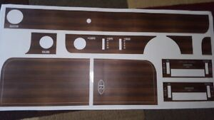 Like Nos 1969 1970 Buick Riviera Complete Dash Set Applique Decal