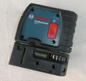 Bosch Gpl3 3 point Alignment Self leveling Laser very Lightly Used