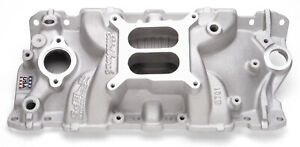 Edelbrock 2701 Performer Eps Intake Manifold Small Block Chevy 4 Barrel