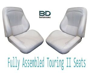 1964 Lemans Gto Touring Ii Front Bucket Seats Assembled