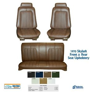 1970 Skylark Bucket Rear Seat Upholstery In Your Choice Of Factory Color