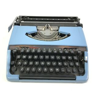 Brother Charger 11 Correction Portable Manual Typewriter W Hard Case Top Japan