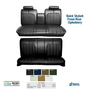 1970 Skylark Front rear Bench Seat Upholstery In Your Choice Of Factory Color