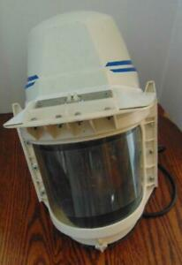 Used 3m Respiratory Helmet Hat Shell Assembly W 3258 Full Face Shield
