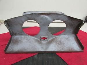 Original Genuine 1938 Deluxe 1939 Ford Standard Lower Grille Pan Horn Surround