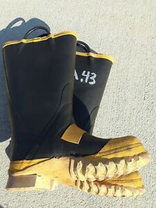 Firefighter Bunker Gear Boots