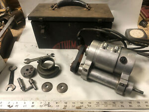 Machinist Tools Lathe Mill Machinist Themac J 2a Tool Post Grinder In Box Ofce