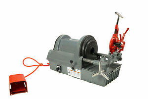 Sdt Reconditioned Ridgid 1822 i Automatic Chucking 1 2 2 Npt Pipe Threader