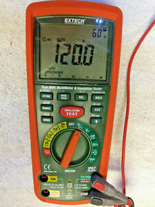 Extechmg300 13 Function Wireless True Rms Multimeter insulation Tester