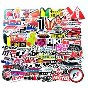 100pcs Jdm Stickers Pack Car Motorcycle Racing Motocross Decal Faster Shipping