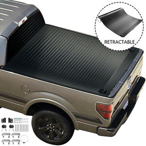 Tonneau Cover For Ford F 150 2004 2021 5 5ft Short Hard Retractable Truck Bed