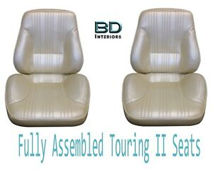 1967 Lemans Gto Touring Ii Front Bucket Seats Assembled