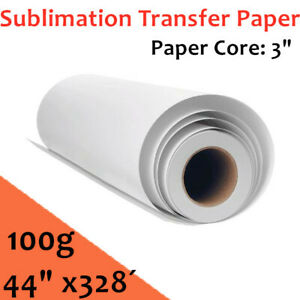 100g 44 X328 High Tacky Sticky Coated Sublimation Transfer Paper Core 3