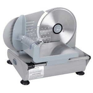 Commercial Meat Slicer 150w Deli Cheese Food Bread Kitchen 7 5 Blade For Home