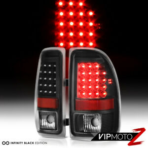 1997 2004 Dodge Dakota Black Led Brake Signal Brake Lamp Tail Lights Left Right