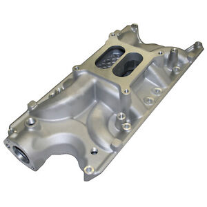Power Products Dual Plane Intake Manifold Ford 289 302 Satin Finish 1000 6000
