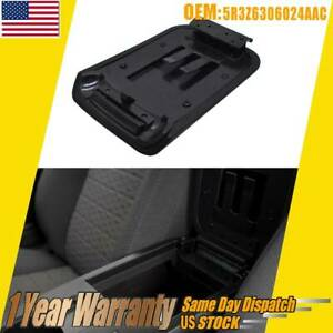 Black Center Console Armrest Lid Cover 5r3z6306024aac For 2005 09 Ford Mustang
