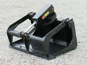 36 Solid Bottom Bucket Grapple Attachment Fits Toro Dingo Mini Skid Steer