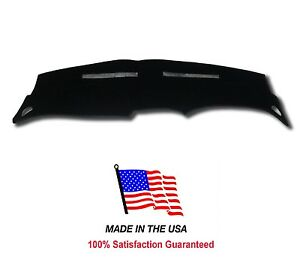 Black Carpet Dash Mat Compatible With 1998 2004 Ford Mustang Dash Cover Usa Made