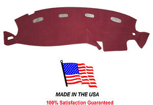 Burgundy Dash Mat Pad Compatible W 1998 2001 Dodge Ram Pick up 1500 Dash Cover