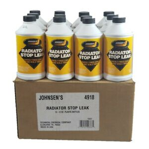 Radiator Stop Leak Quickly Finds Leaks And Seal Them 12 12 Oz Bottle Usa