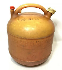Vintage Eagle 5 Gallon 5 Gal Plastic Vented Gas Can Pg 5 Fuel Jug Marine Auto