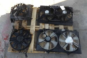 12 15 Honda Civic Right Electric Condenser Cooling Fan Assembly