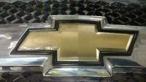 Oem Grille For Silverado 1500 Pickup Assy Chrm Blk Text W Emblem Pitted