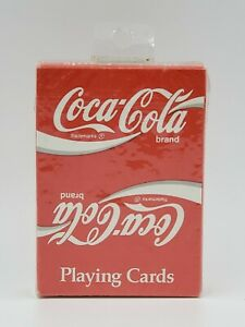 New Sealed - Coca Cola Playing Cards Sealed RARE #351 - Fast/Free Shipping