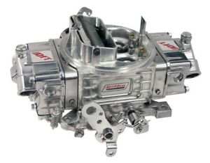 Quick Fuel 650 Cfm Mechanical Secondary Double Pumper Hr Carburetor Carb Hot Rod