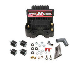 Msd Ignition 82613 Hvc Ii Racing Coil For Use With 7 8 series Ignitions Black