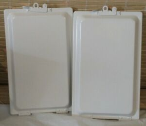 Durable Aluminum Manifesto Holder clipboard White With Interior Seal Lot Of 2