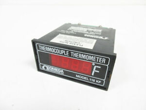 Omega 115 K f Thermocouple Thermometer 115 k f 115kf